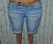 Шорты джинсовые бойфренды на широкие бедра xl 14-16р. 32-33р. Кременчук