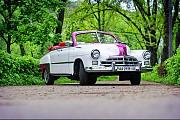 Ретро автомобиль ZIM GAZ-12 cabrio Київ
