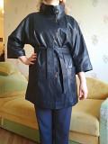 Новый кожаный женский плащ Турция, размер 46-48 Харків