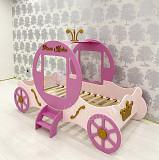 Кровать Карета, кровать для девочки, детская кровать, дитяче ліжко, ліжко для дівчинки Харків