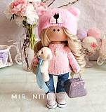 чной работы (тильда куколка из ткани, подарок Полтава