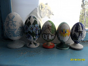 Яйца декоративные из бисера. Цена договорная. Харків