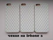 Чехол на iPhone 5 Белый немного с лимонным оттенком Київ