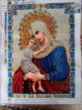 Ікона Пресвятої Богородиці Пошуку погибших. Алмазна мозаїка Львів