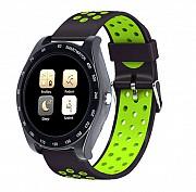 Смарт-часы Adenki Z1 с камерой, шагометр, трекер сна, аудио и видео плеер Салатовый (30-6182)