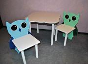 Набор Совушки, детский столик, стульчик, дитячий столик, стільчик Харків