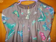 Сарафан летнее детское платье в бабочках на 6-8лет Полтава