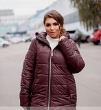 Куртка зимняя цвет Марсала Одеса