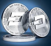 Сувенирная монета Dash, DSH, Дашкоин под Серебро Херсон