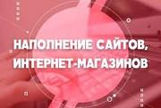 помогу наполнить ваш Сайт,интернет Магазин Одеса