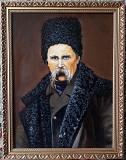 Портрет Тараса Григорьевича Шевченко работы Крамского Ватутіне