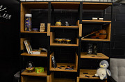 Офисные столы,стеллажи, барные стойки, стулья, на заказ в стиле Лофт Київ