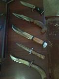 Продам коллекцию охотничьих ножей ручной работы Гола Пристань