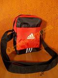 Барсетка сумка спортивная ADIDAS 31черно-красная Полтава