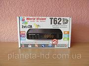 Т2 приемник World Vision T62D (DVB-T2/C ресивер, тюнер, приставка) Харків